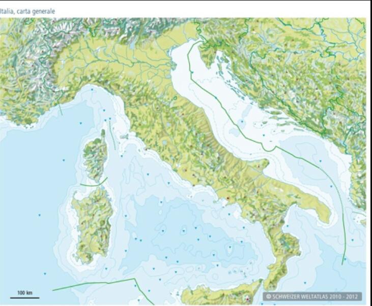 Immagini Cartina Muta Italia.Cartina Muta Italia