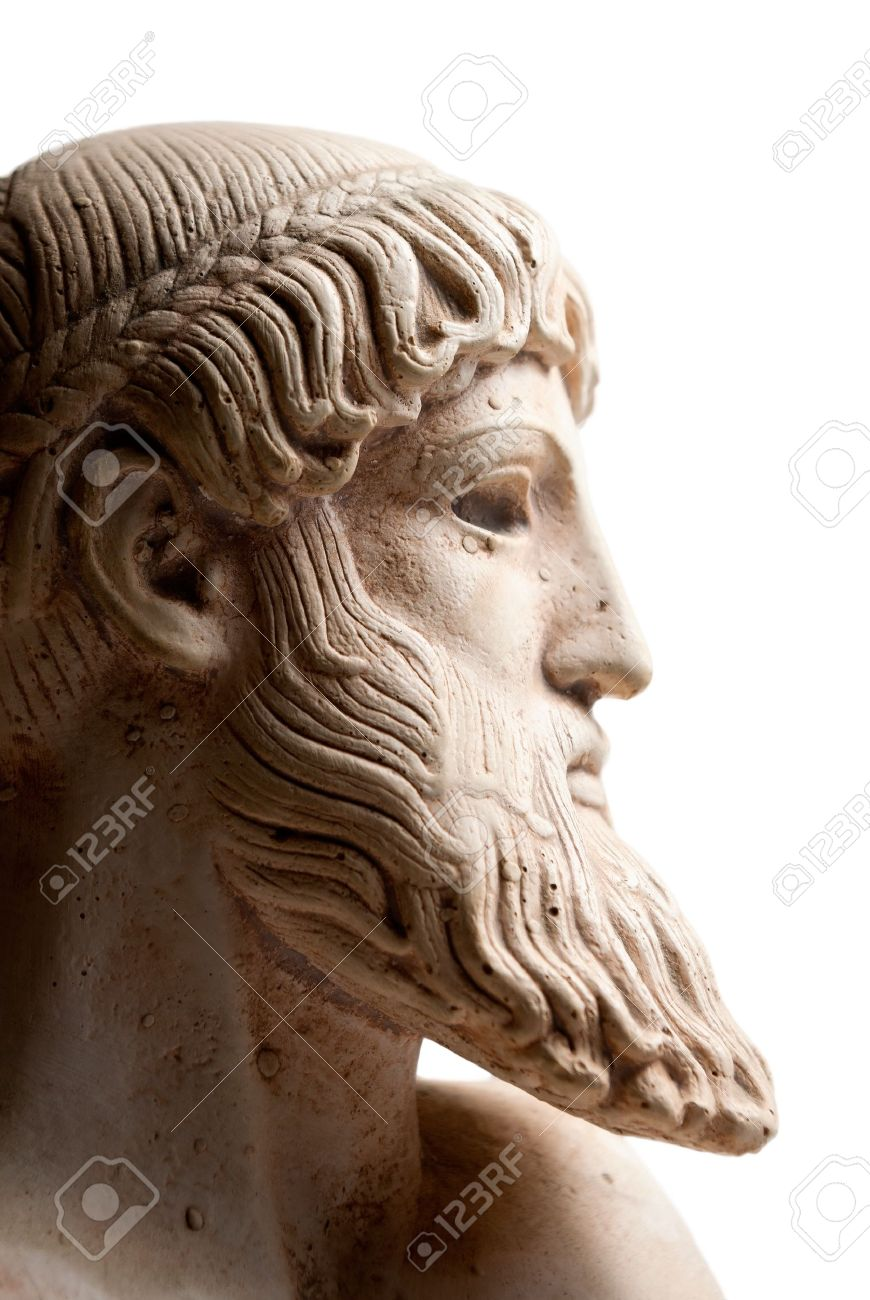 Ancient Greek Beard Thursday 18 February 2010 It Is Unbeing For Young Men To Utter Maxims Aristotle