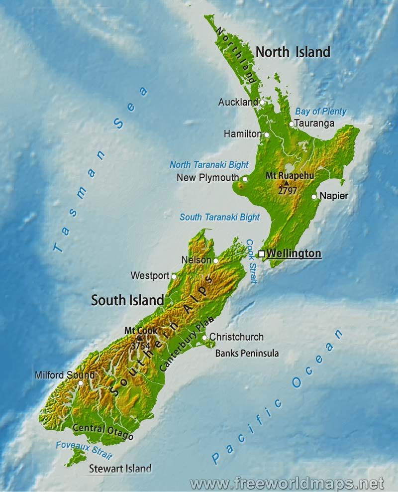 a geography of new zealand