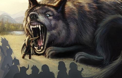 The Fenrir Wolf