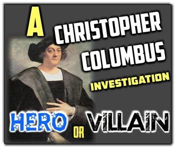 is columbus a hero or villain
