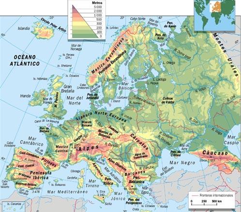 Europa fsica  ThingLink