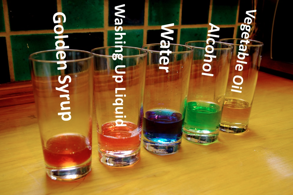 experiment 5 solids and liquids