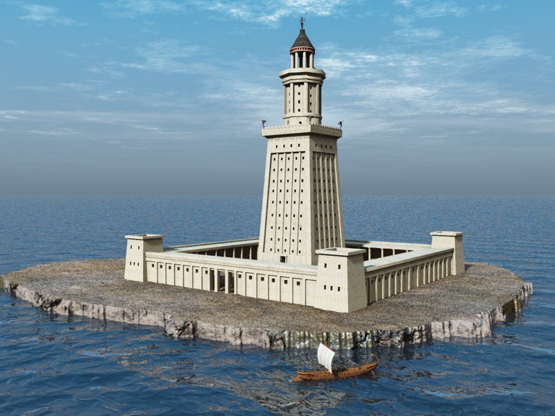 The Lighthouse of Alexandria - ThingLink