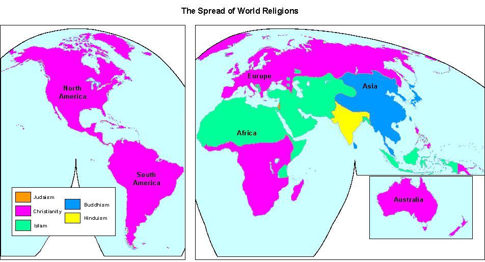 5 Major World Religions - ThingLink