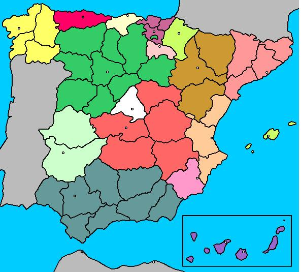 Roberto Comunidades Autonomas De Espana