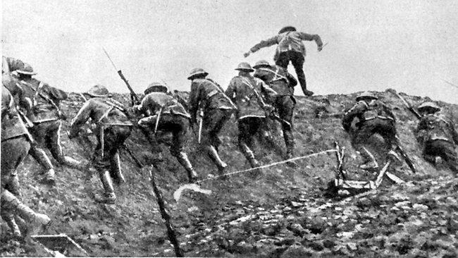 Pertempuran Somme 1916 | foto thinglink.com