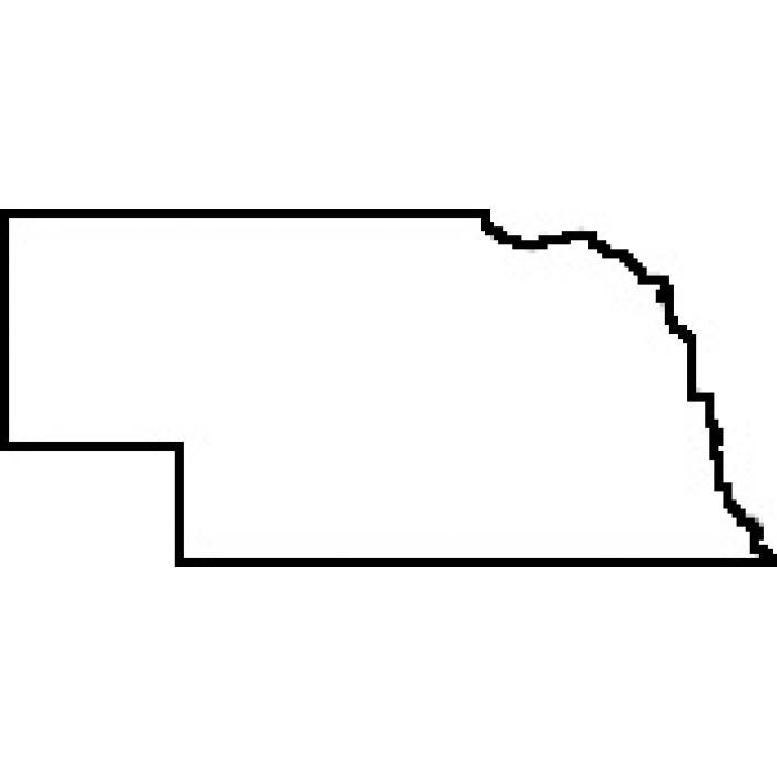 Nathan & Kade's Nebraska map