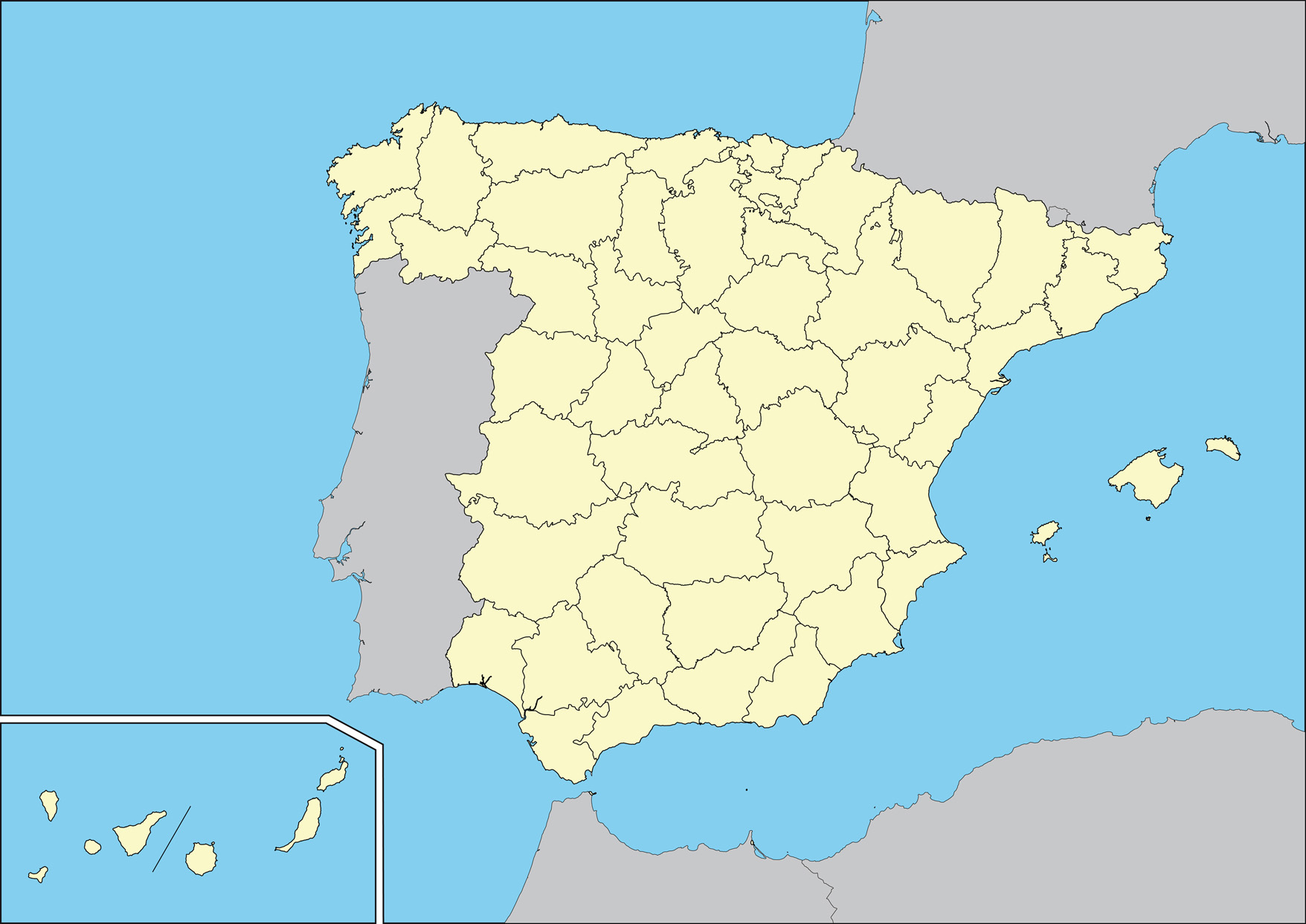 Картинки испания на карте мира