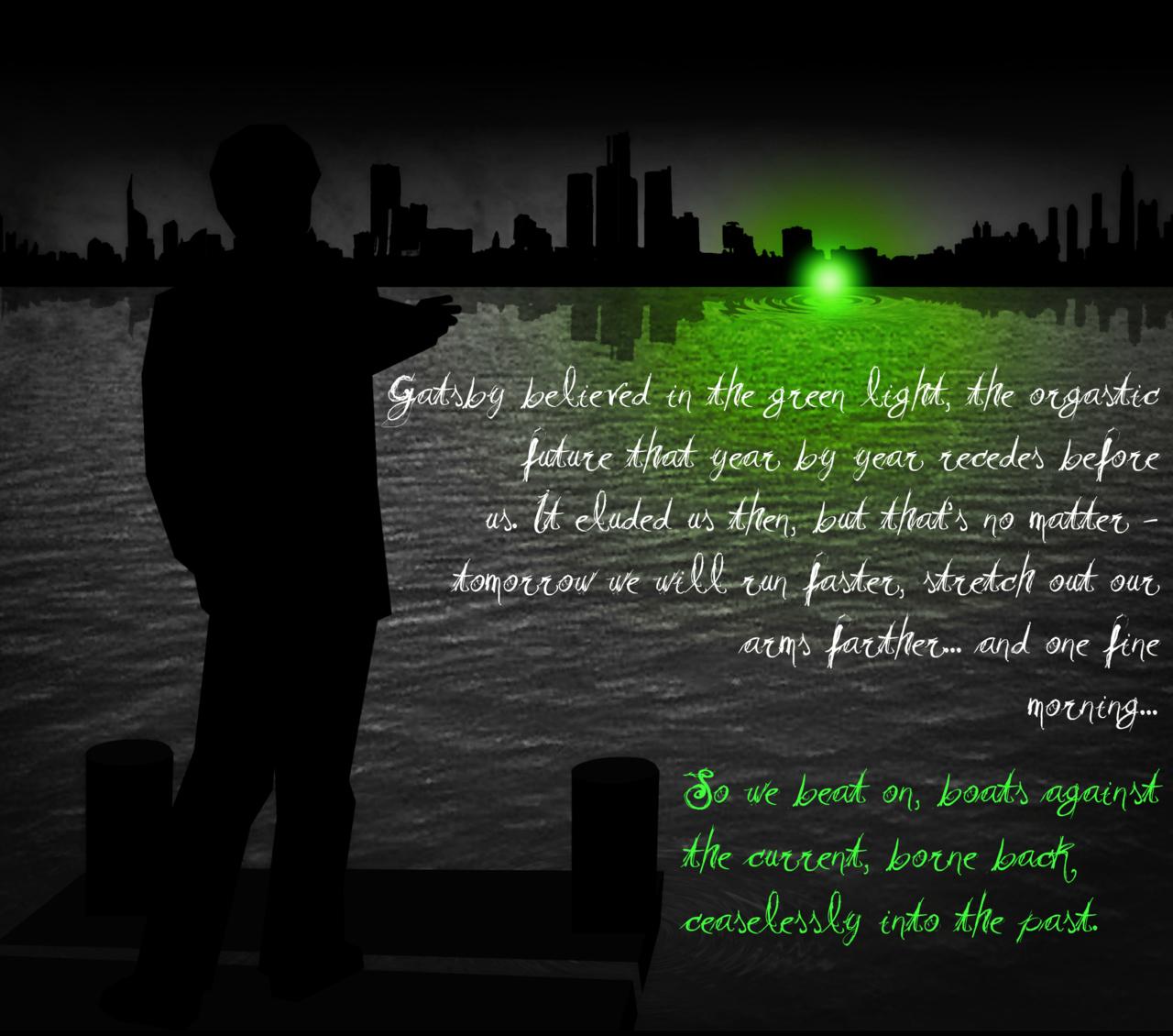 the great gatsby symbolism green light essay