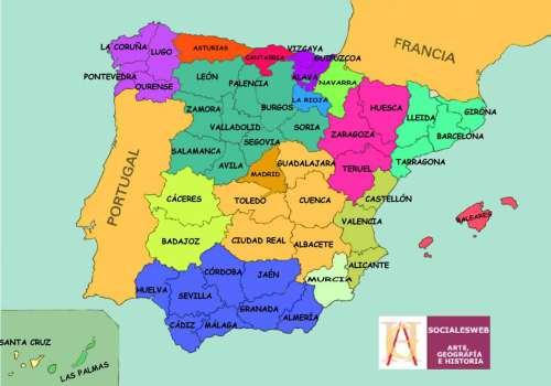 MAPA ESPAÑA - ThingLink