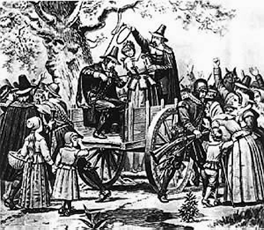 an analysis of the witch hunting mass hysteria in salem massachusetts