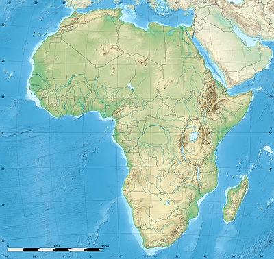 Reљef Afrike My Interactive Image