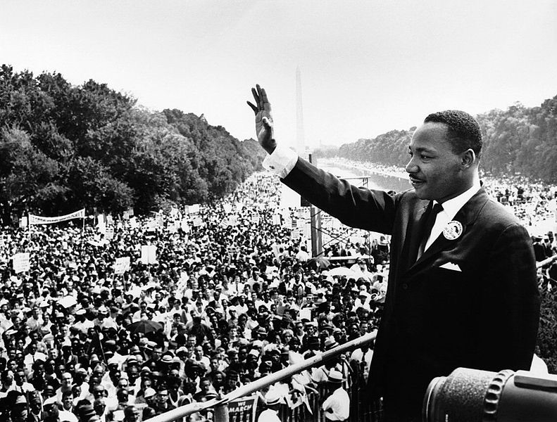 Why is Martin Luther King considered a hero?