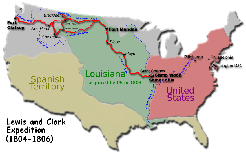 Remix of Lewis and Clark ExpeditionTrenton 5M  ThingLink