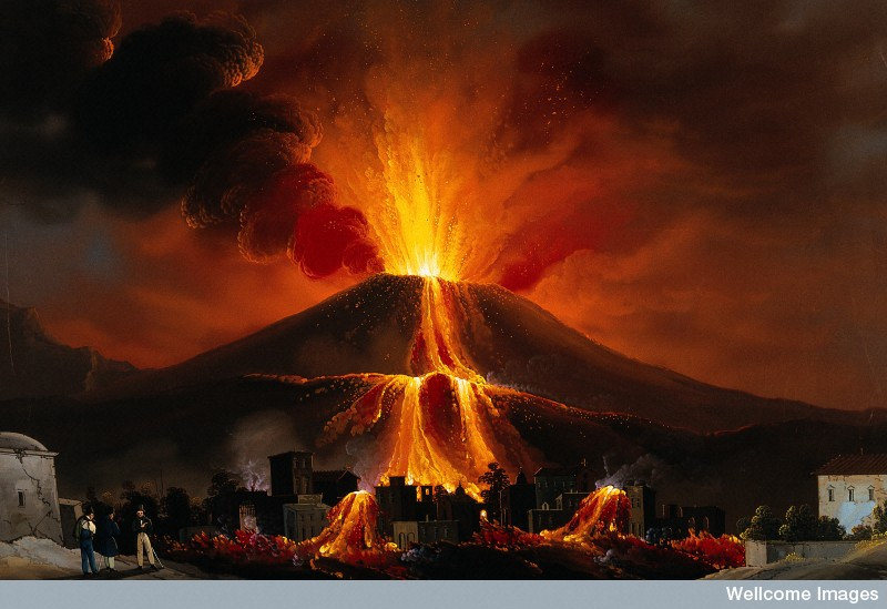 Mount Vesuvius Eruption 79 AD