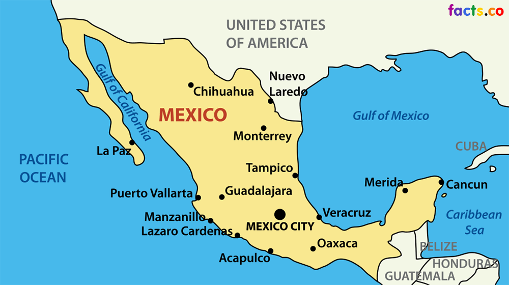 Eva Mexico Map