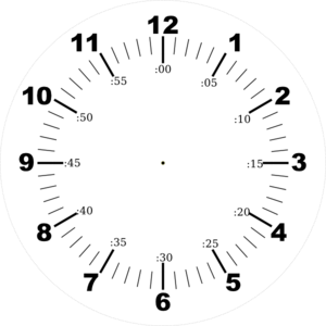 Hour and minute hands rotate around the center of the clo... - ThingLink