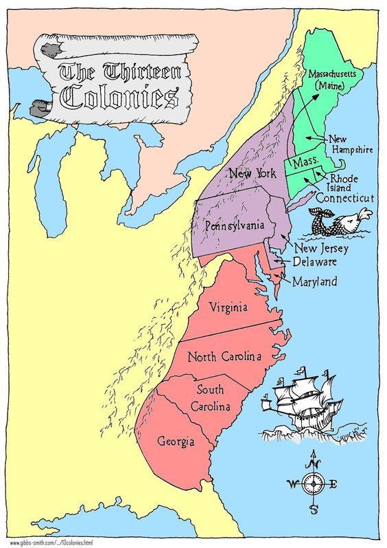 the british rule of american colonies The thirteen colonies in the eighteenth century were probably the places with the highest standard of living  the economy of british america, 1607-1789 by allan.