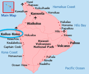 Map Of Hawaii Makee