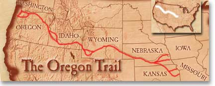 the Oregon trail  ThingLink