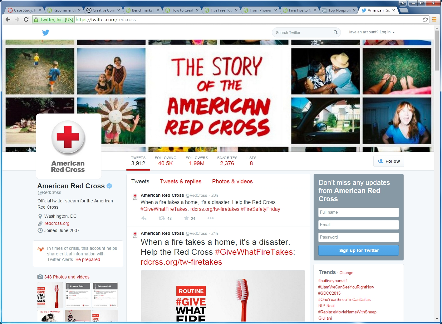 the american red cross case study The american red cross' ® call center provides service nationally and to 700 local chapters around the country, offering ongoing customer care to blood donorsthe american red cross® implemented broadsoft cc-one to replace an on-premise system that was expensive to maintain and upgrade.