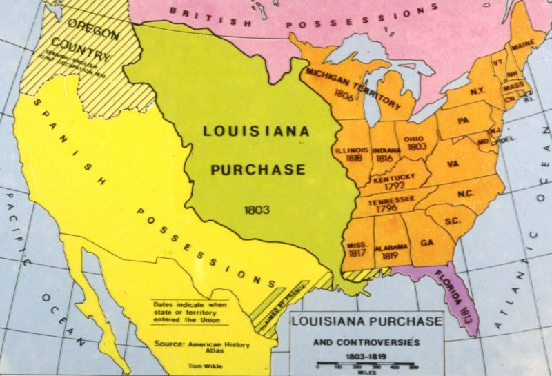 Facts about the Louisiana Purchase History of the Louis