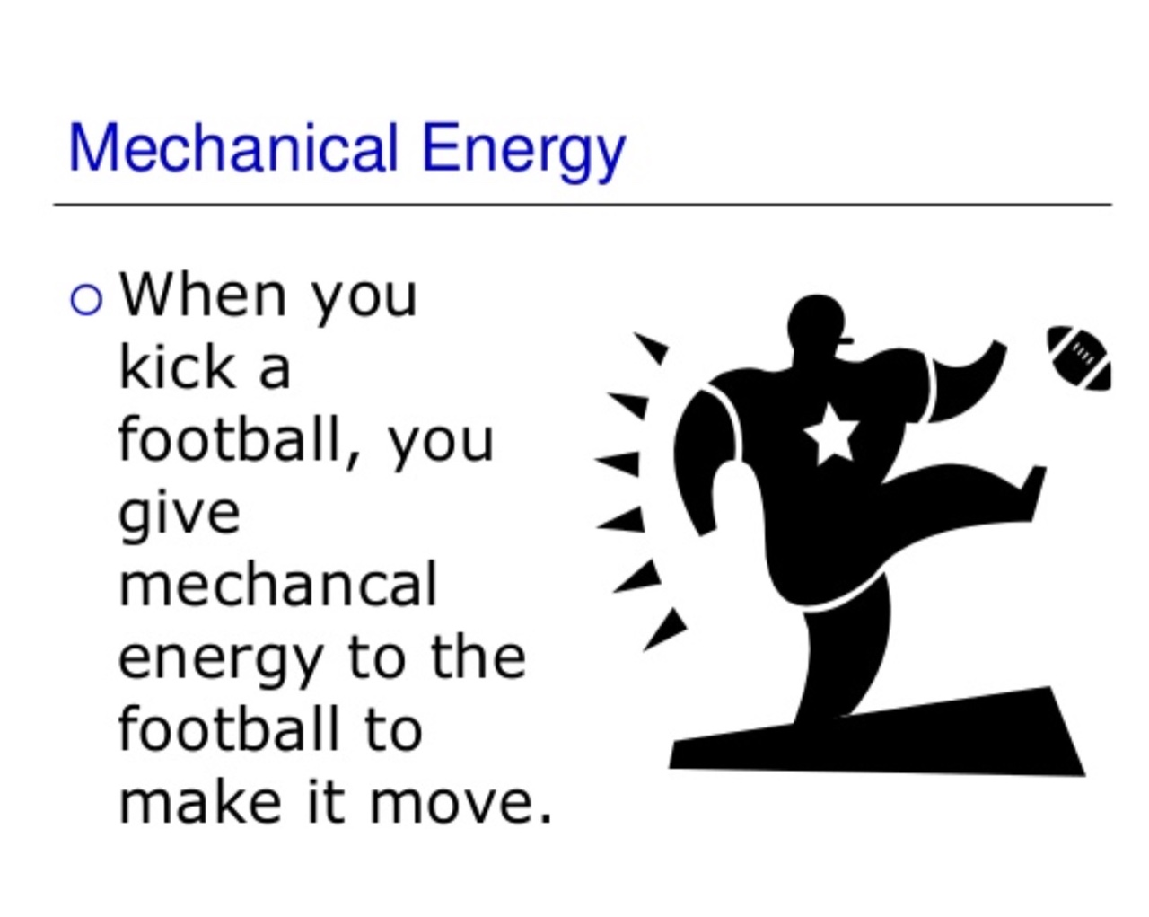 Mechanical energy pictures examples 2