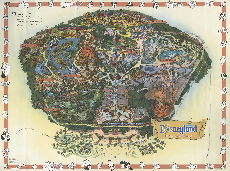 Disneyland Park ThingLink - Disneyland usa location map