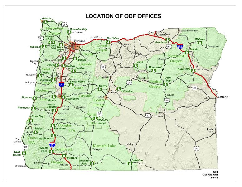 The State Of Oregon ThingLink - State of oregon map
