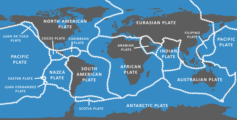 Map Of Tectonic Plates ThingLink - Plates map