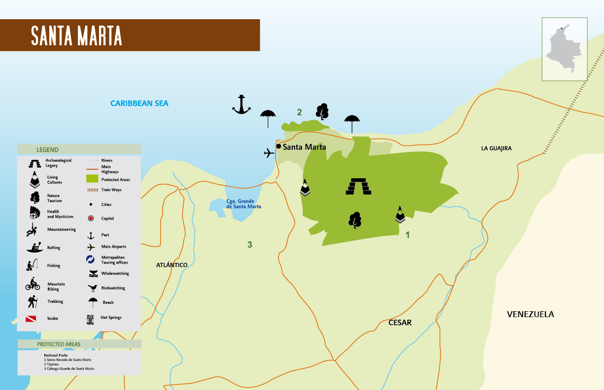 La Sierra Nevada de Santa Marta ThingLink