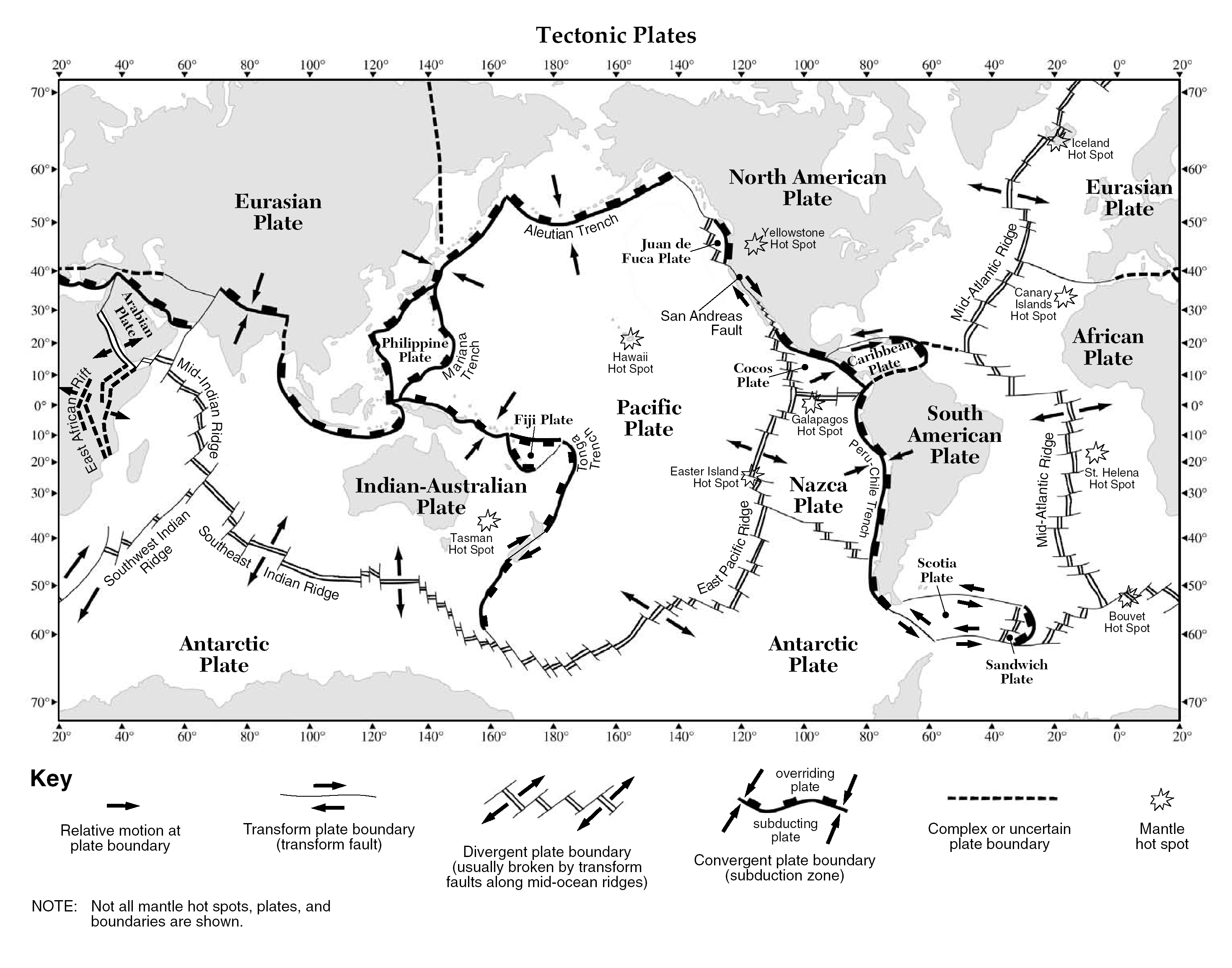 Plate Tectonics ThingLink – Plate Boundaries Worksheet Answers