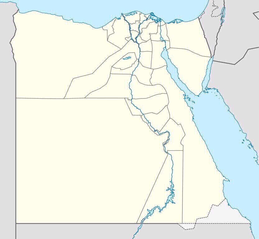 Mapa Mudo De Egipto
