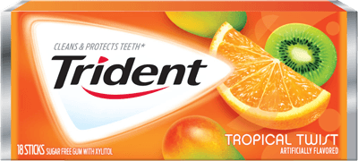 Trident Is A Certain Brand Of Gum Trident Gum Is Relate