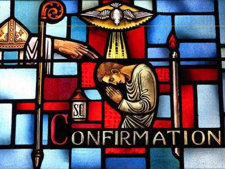 Symbols Of Confirmation Flames Seven Flames Represent 7