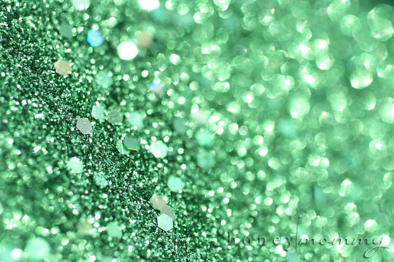 green sparkle background - photo #15