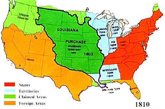 Westward Expansion ThingLink - Us westward expansion purchases maps