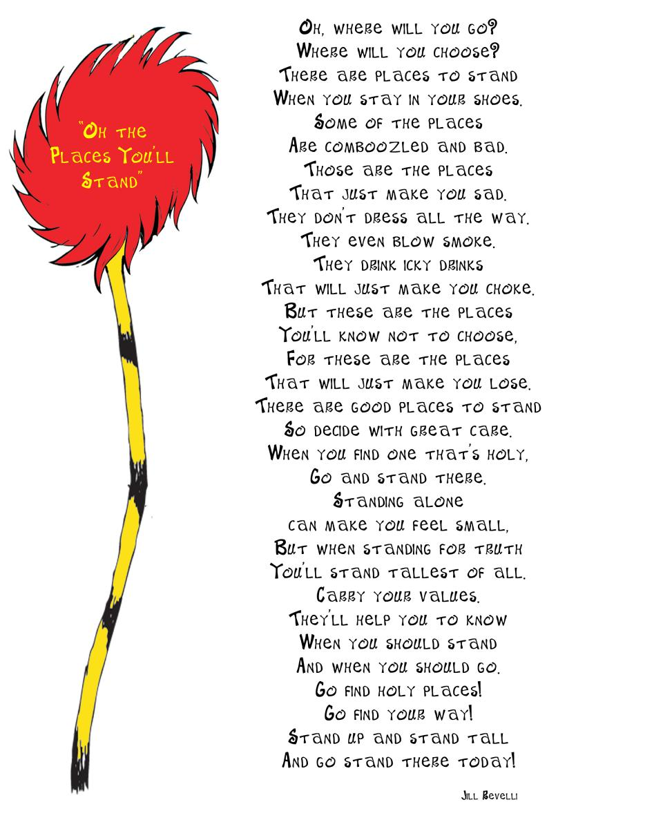 Love Quote Dr Seuss One Of Dr Seuss's Poems Poetry We Are Learning Poetry I