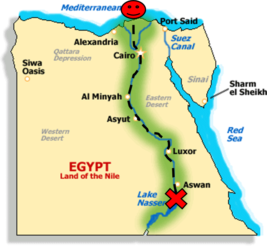 Cairo Egypts Sprawling Capital Is Set On The Nile Rive - Map of egypt with capital