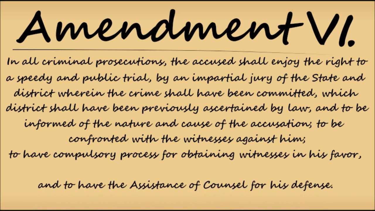 Bill Of Rights Amendment 10