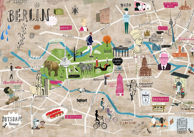 The Map of Berlin - ThingLink