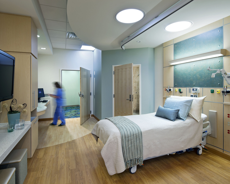 Sala de espera moderna hospital