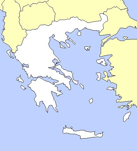 carte de la grece antique Carte Grèce antique