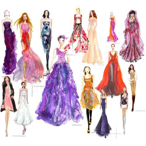 fashion design thinglink - Fashion Design Ideas