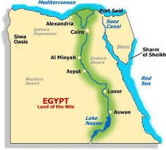Turisticka Mapa Egipta