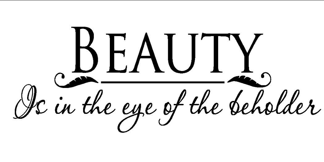 beauty is in the eye of the beholder thinglink beauty is in the eye of the beholder