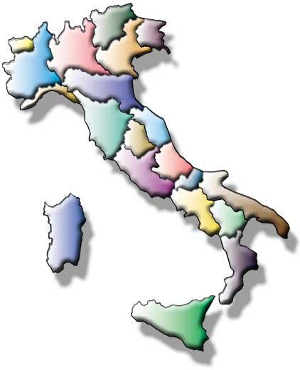 Cartina Italia Senza Regioni.Italia 1943 1945