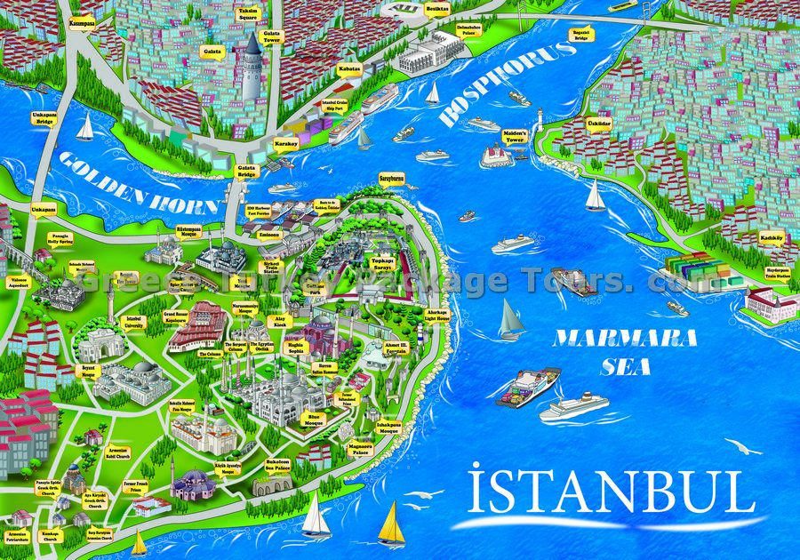 stanbul Tourist Guide ThingLink