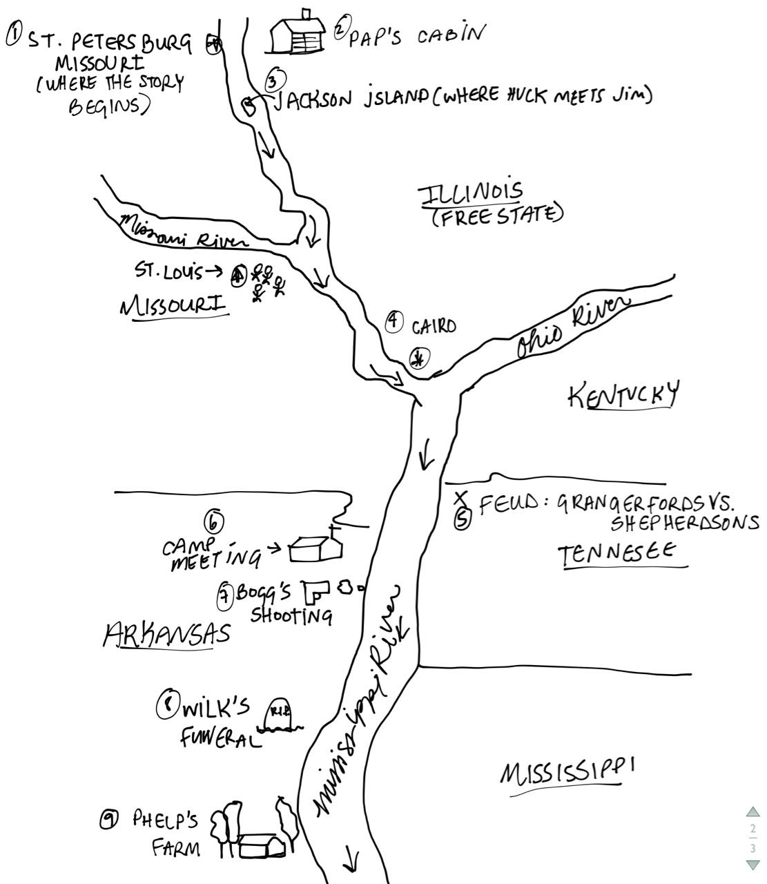 huck finn map citylondonhotel